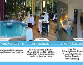 Nro 7 kilpailuun Design a Brochure for elegant Hotel käyttäjältä Mohamedbellak