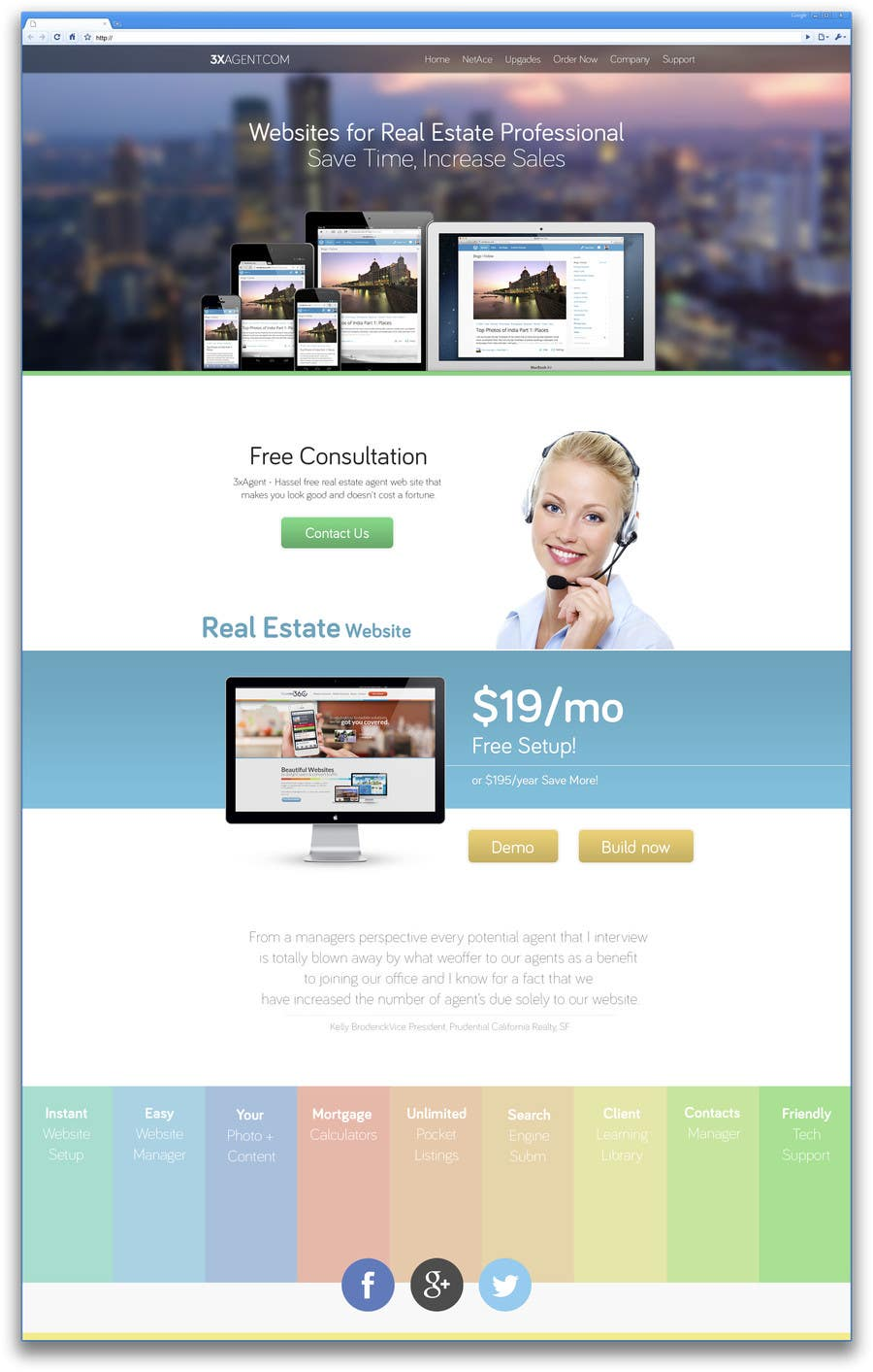 #49 for Design a Website Mockup for PBX by AndyBag