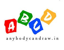 nº 61 pour Design a Logo for AnyBodyCanDraw.in par rykappcraft