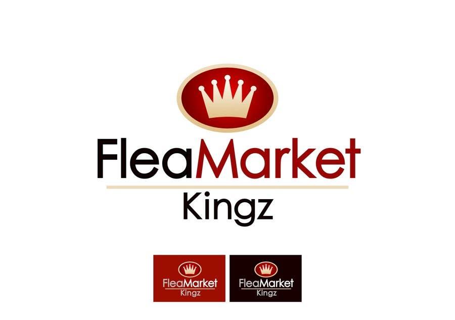 Bài tham dự cuộc thi #53 cho Design a Logo for Flea Market Kingz