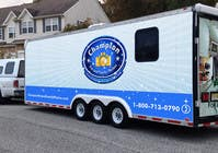 Graphic Design Contest Entry #12 for Design A 3 Side Trailer Wrap for Mobile Pet and Family Photography