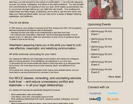 #8 untuk Design a Website Mockup for small biz seeking Fortune 500 clients oleh Ankur0312
