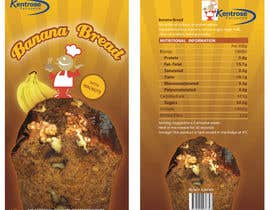 #16 для Banana bread packaging label design от modishdesigns