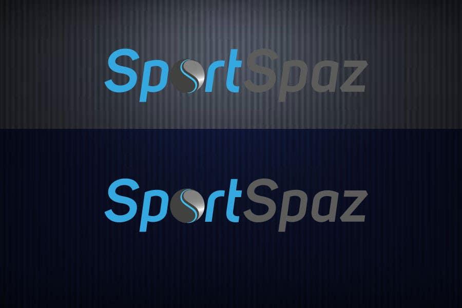 #31 for Design a Logo for SportSpaz by finetone