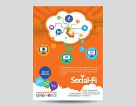 #35 for 48 Hour Design Flyer for Social Wi-fi by graphics15