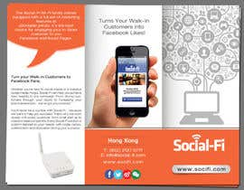 #18 for 48 Hour Design Flyer for Social Wi-fi by hih7