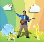 Contest Entry #96 for Edit/create picture background for kids' music performer