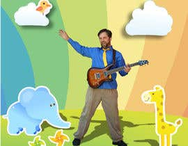 #96 for Edit/create picture background for kids' music performer by Tsurugirl
