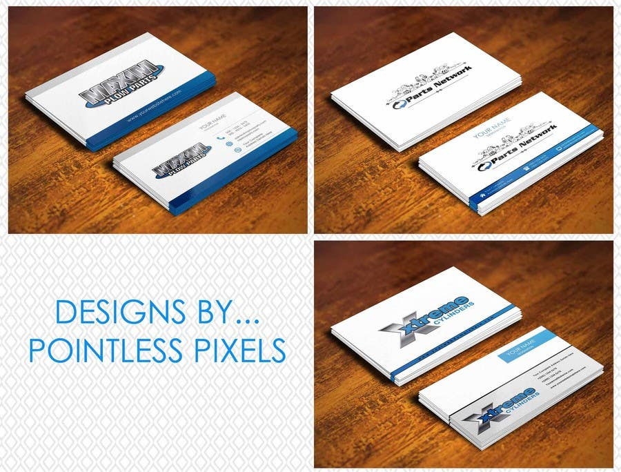 #28 for Design a Business Card for our 3 Different Businesses by pointlesspixels