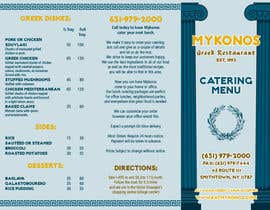 maq123 tarafından Design a Catering Menu for Mykonos Greek Restaurant için no 16