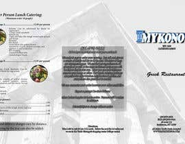 #12 for Design a Catering Menu for Mykonos Greek Restaurant by NewmarWegner2103