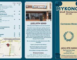 #8 for Design a Catering Menu for Mykonos Greek Restaurant by Kusmin