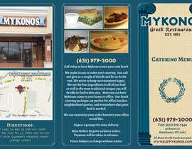 #11 untuk Design a Catering Menu for Mykonos Greek Restaurant oleh Kusmin
