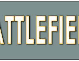 Nro 7 kilpailuun Battlefield Logo for youtube Channel käyttäjältä Mdiqbal15