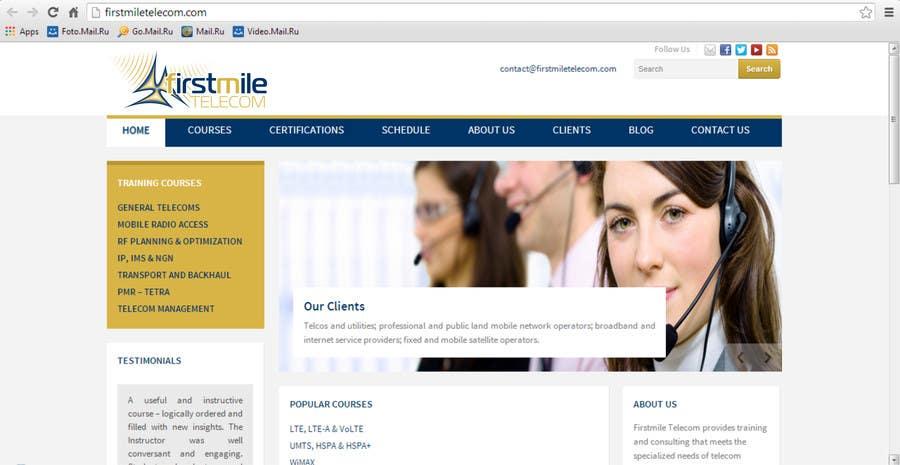 Konkurrenceindlæg #268 for Design a Logo for Firstmile Telecom