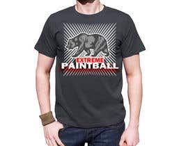 nº 25 pour Design a T-Shirt for Extreme Paintball par jojohf