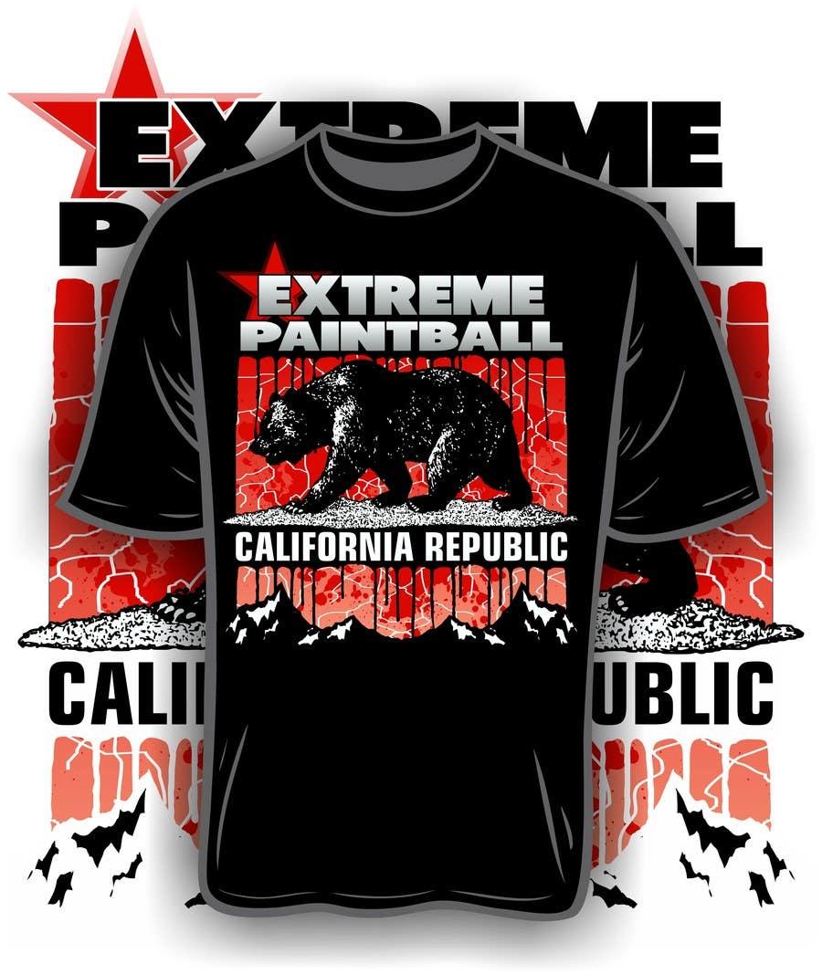 Bài tham dự cuộc thi #54 cho Design a T-Shirt for Extreme Paintball