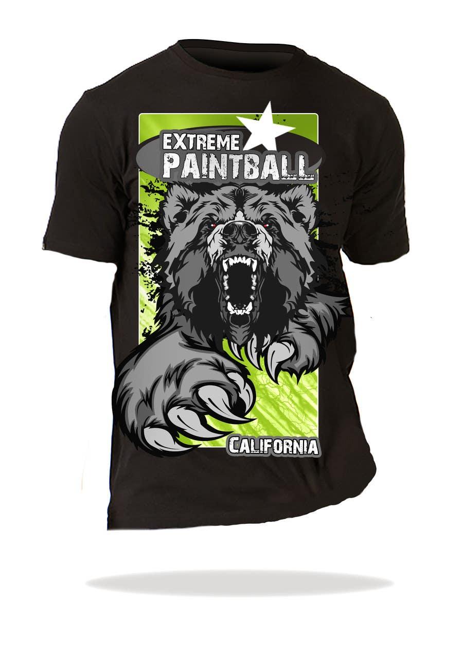 Bài tham dự cuộc thi #59 cho Design a T-Shirt for Extreme Paintball