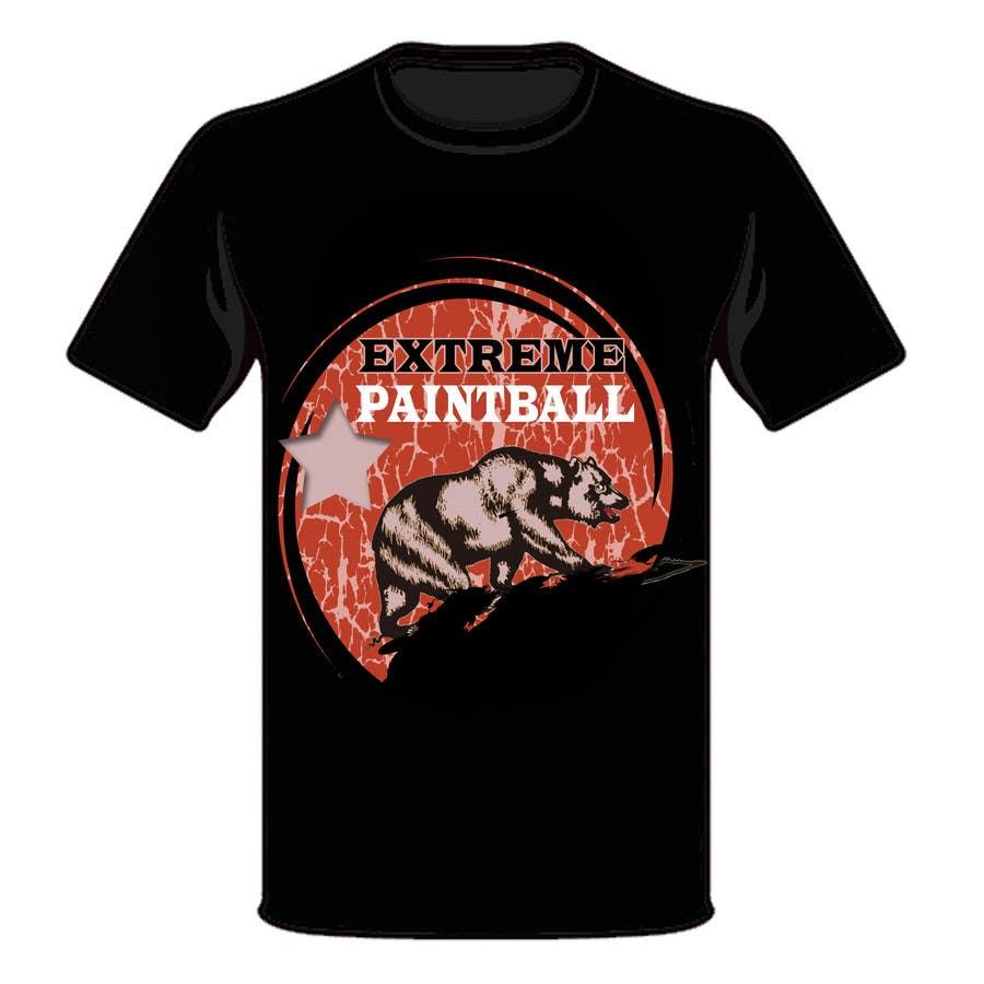 Bài tham dự cuộc thi #45 cho Design a T-Shirt for Extreme Paintball