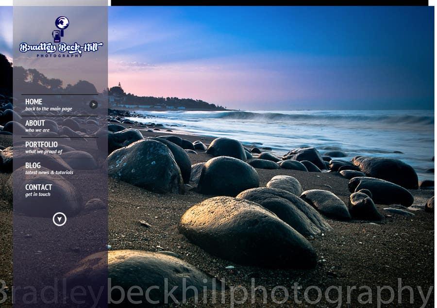 Inscrição nº 21 do Concurso para Photography PSD reskin