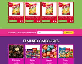 webwaltz tarafından Design creative website mock up for a snacks shop için no 33