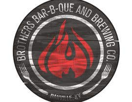 nº 18 pour Startup BBQ brewpub needs a cool logo par willeckman