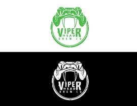 jiamun tarafından Design a Logo for Viper Head Brew Co. için no 93
