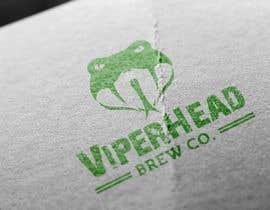 Iddisurz tarafından Design a Logo for Viper Head Brew Co. için no 12