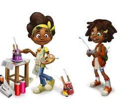 Nro 38 kilpailuun Cartoon Professional Kid Character - what I want to be käyttäjältä Milos009