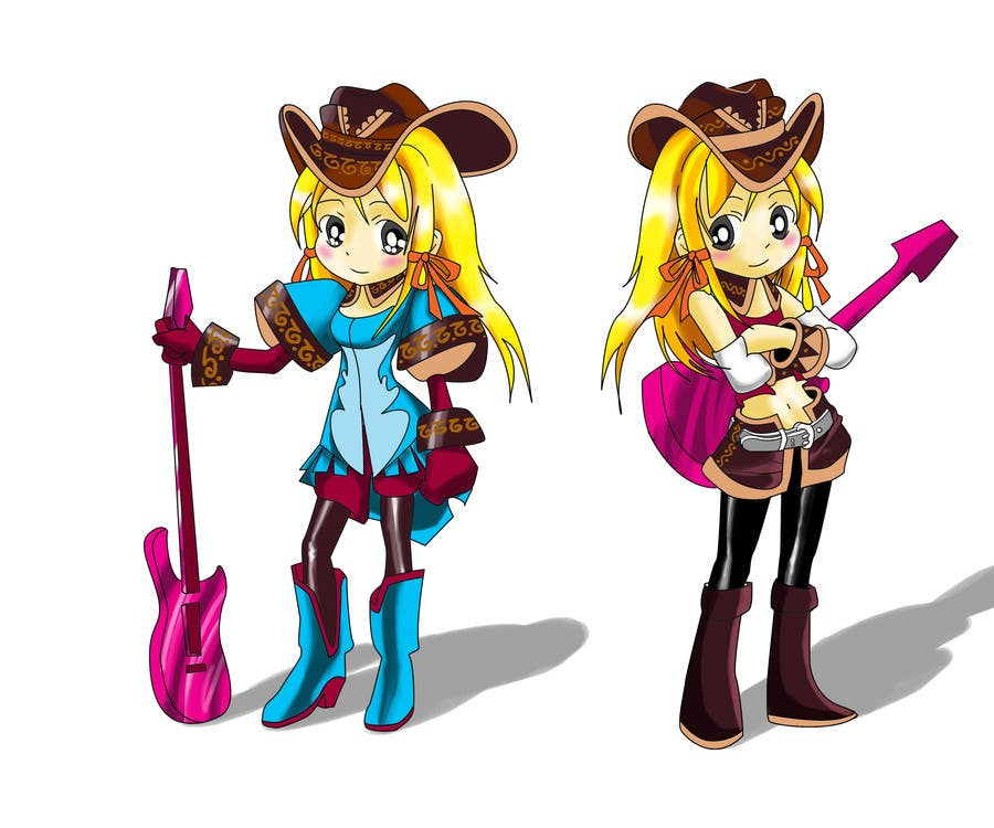 #5 for Cartoon Style Game Character Illustration Contest by dodot1974