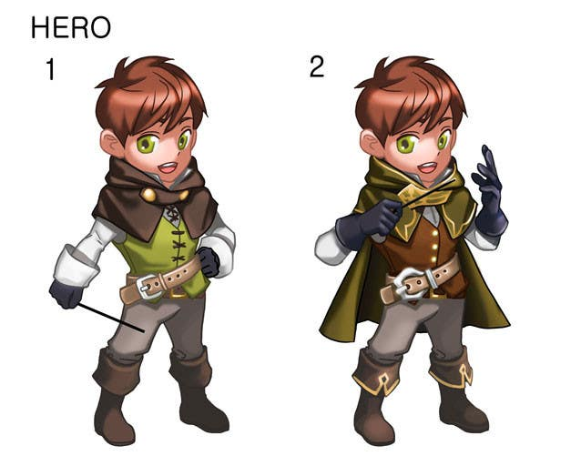 #72 for Cartoon Style Game Character Illustration Contest by sinsiyo