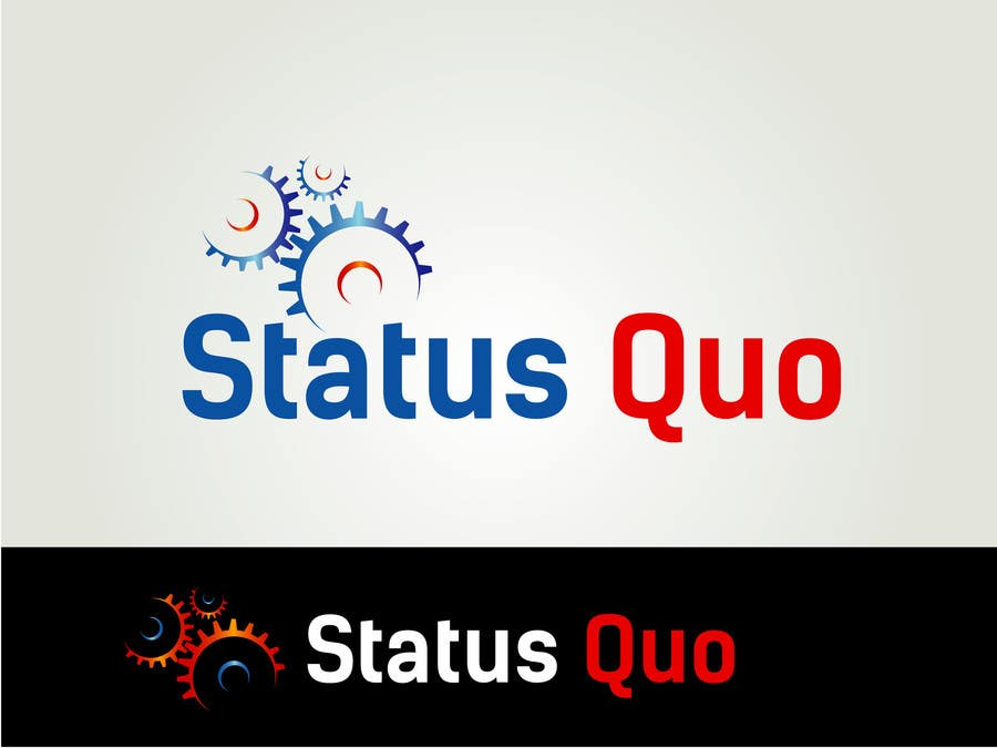 #171 for Design a Logo for Status Quo by billahdesign