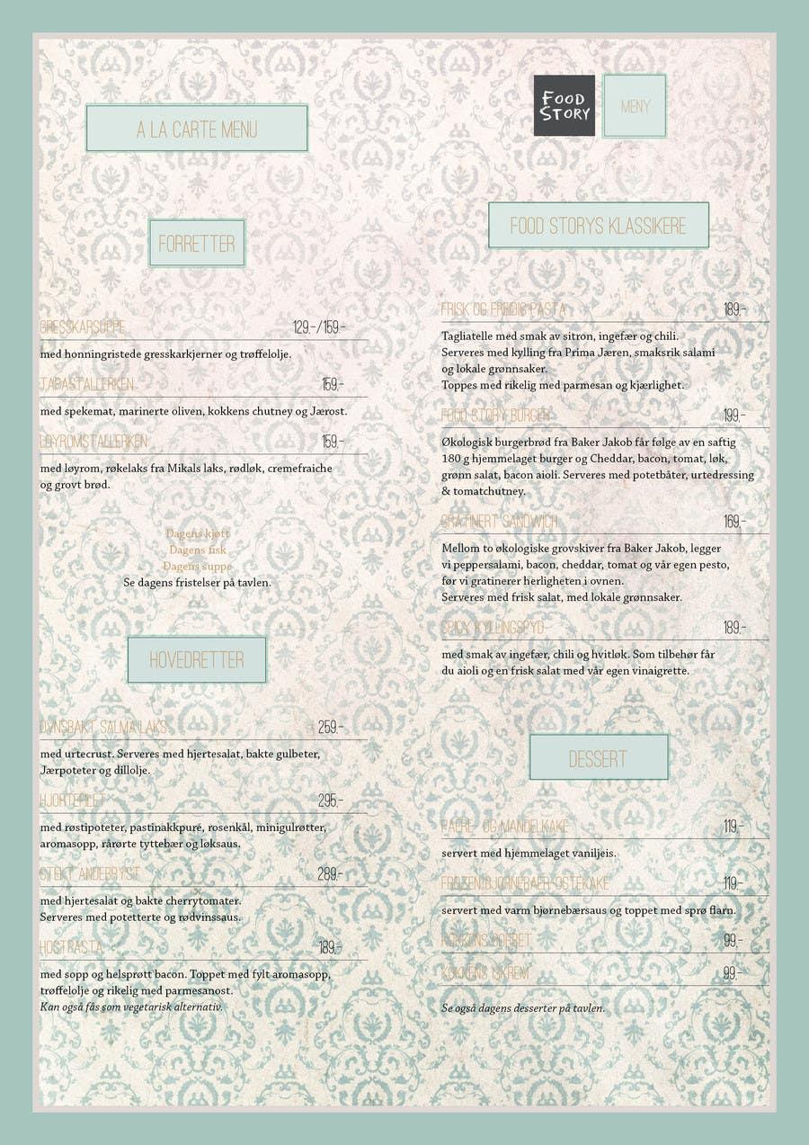 Bài tham dự cuộc thi #                                        38                                      cho                                         Create a background for a restaurant menu.