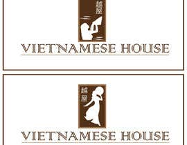 "#85 for Design a Logo for Vietnamese restaurant named ""越屋 Vietnamese House"" by Bacvu"