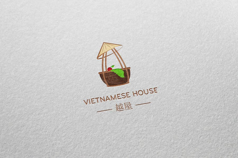 "#87 for Design a Logo for Vietnamese restaurant named ""越屋 Vietnamese House"" by raywind"