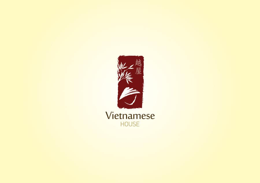 "#76 for Design a Logo for Vietnamese restaurant named ""越屋 Vietnamese House"" by HerlinaTan"