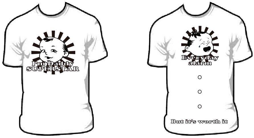 Penyertaan Peraduan #                                        59                                      untuk                                         T-shirt Design for Razors and Diapers