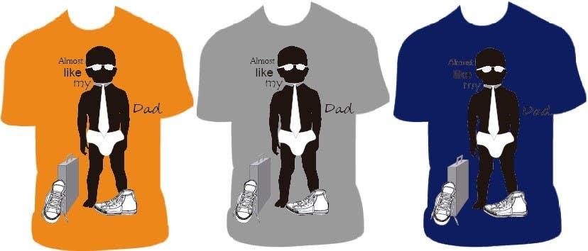 Конкурсная заявка №128 для T-shirt Design for Razors and Diapers