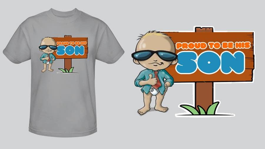Kilpailutyö #133 kilpailussa T-shirt Design for Razors and Diapers