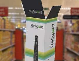 #21 untuk Create labels and box design for eliquid company oleh typocad