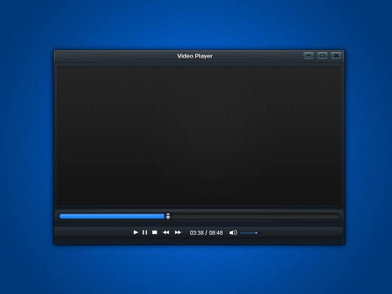 #6 for Media (Video) Player Main Screen by armanchik