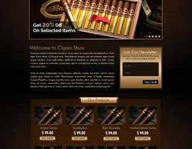 #8 for Need Design Mock Up for Cigar Shop af atularora