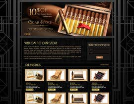 #10 for Need Design Mock Up for Cigar Shop af atularora