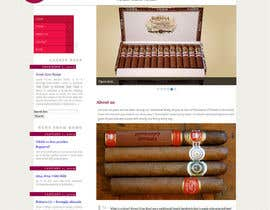 #22 for Need Design Mock Up for Cigar Shop af backibreg