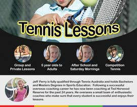#21 para Design a Flyer for Tennis Coaching por krewrstudio