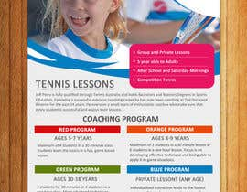 #28 para Design a Flyer for Tennis Coaching por mydZnecoz