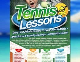 #31 para Design a Flyer for Tennis Coaching por gesthomas