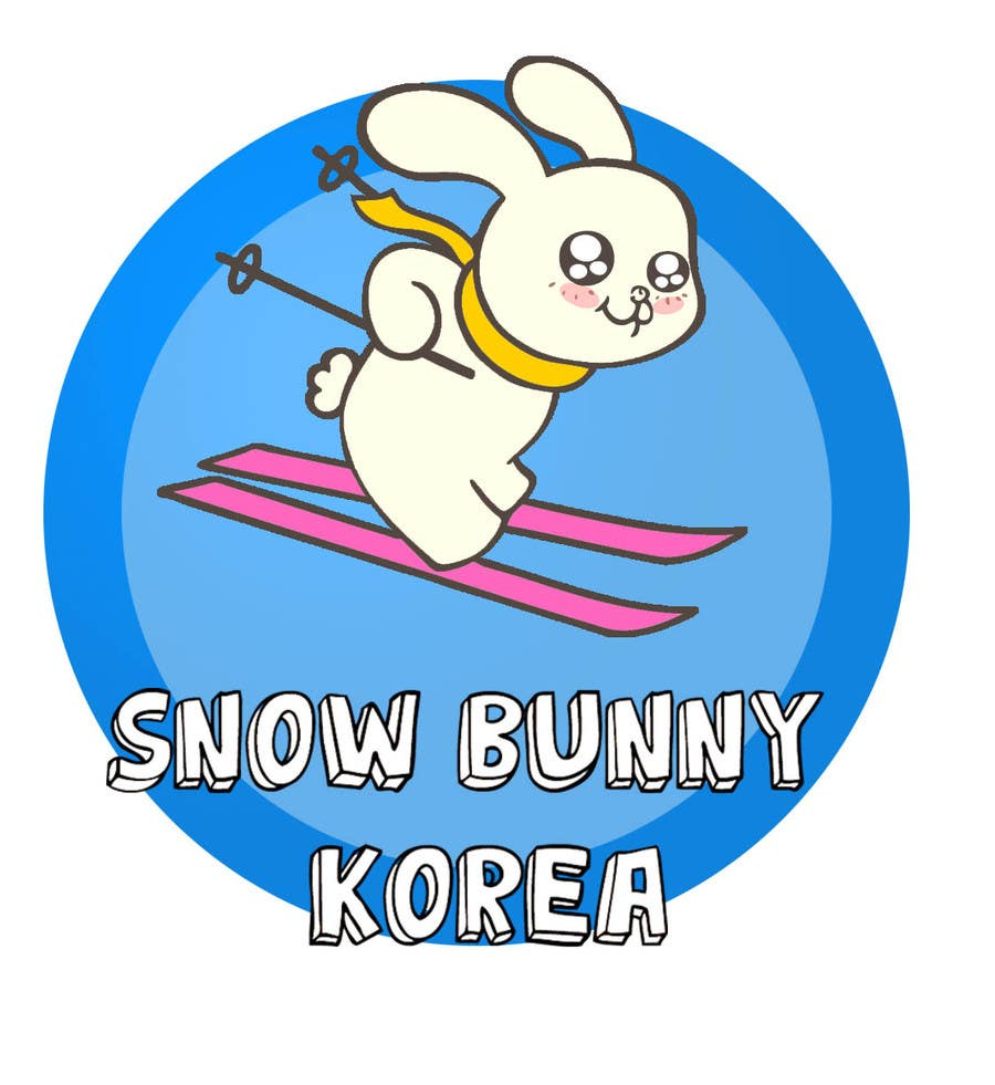 Penyertaan Peraduan #                                        26                                      untuk                                         Design a Logo for Snow Bunny Korea