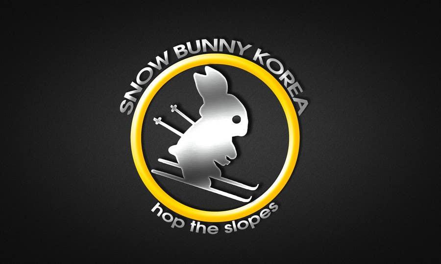 Penyertaan Peraduan #                                        11                                      untuk                                         Design a Logo for Snow Bunny Korea