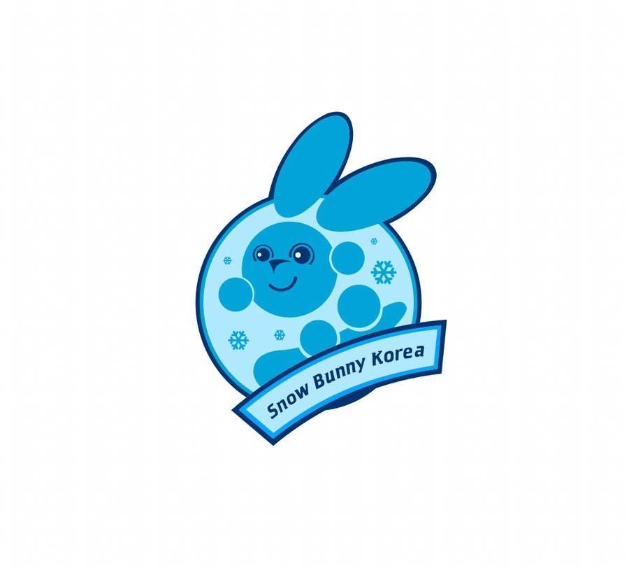 Penyertaan Peraduan #                                        31                                      untuk                                         Design a Logo for Snow Bunny Korea